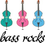 String Bass Rocks Gifts and Shirts