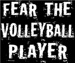 Fear the Volleyball Player Funny T-shirts