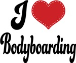 I Heart Bodyboarding T-shirts and Gifts