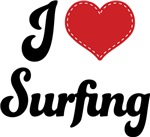 I Heart Surfing T-shirts and Gifts