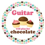 GUITAR WILL PLAY FOR CHOCOLATE MUSIC GIFTS