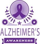 Alzheimer's Awareness Vintage T-shirts