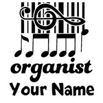 PERSONALIZED ORGANIST GIFTS | T-SHIRTS