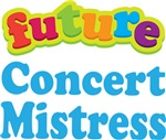 Future Concert Mistress Kids Music T-shirts
