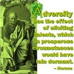 Adversity Elicits Talent