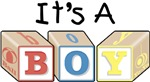 It's a Boy! Blocks