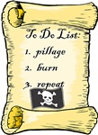 Pirate To Do List