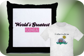 T-Shirts and Gifts for Oma