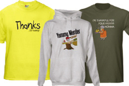 Funny Thanksgiving T-Shirts and Gifts