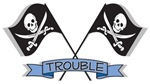 Trouble (Jolly Roger Pirate Flags)