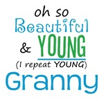 Beautiful and Young Granny