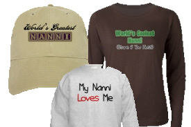 Nanni Gifts and T-Shirts