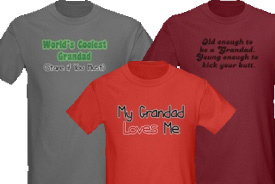 Grandad Gifts and T-Shirts