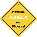 Proud Abuela on Board