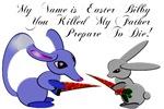 Easter Bilby VS Easter Bunny!