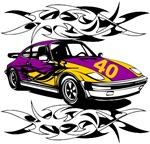 Sportscar 40th Birthday Gifts.