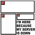 Website Humor T-Shirts & Gifts, Broken Image!
