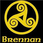 Brennan Celtic Knot (Gold)