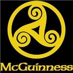 McGuinness Celtic Knot (Gold)