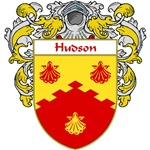 Hudson Coat of Arms (Mantled)