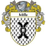 Mills Coat of Arms (Mantled)