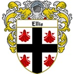 Ellis Coat of Arms (Mantled)