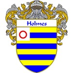 Holmes Coat of Arms (Mantled)