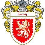 Gray Coat of Arms (Mantled)