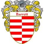Barrett Coat of Arms (Mantled)