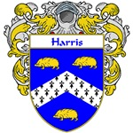 Harris Coat of Arms (Mantled)