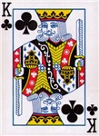 Poker Shirts - King of Clubs