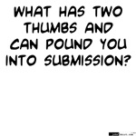 Two Thumbs Pound Submission