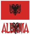 Albania Flag and Name