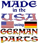 Made in the USA Using German Parts