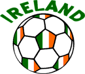 Irish Flag Football or Soccer Ball