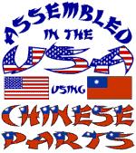 USA / Chinese Parts