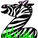 Z is for Zebra T-shirts & Gifts