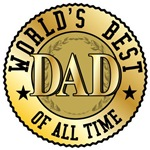Worlds' Best Dad Father's Day T-shirts Gifts