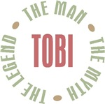 Tobi The Man The Myth The Legend T-shirts Gifts