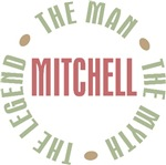 Mitchell the Man the Myth the Legend T-shirts Gift