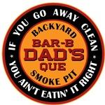Dad's Backyard Bar-b-que T-shirts Gifts