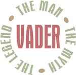 Vader Dad Africaans Man Myth Legend T-shirts Gifts