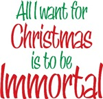 Twilight Christmas Immortal Tees and Gifts