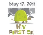 Personalized My First 5K Tees and Gifts