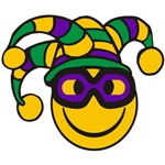 Mardi Gras Smiley