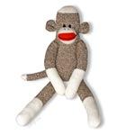Sock Monkey Sitting