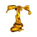 Blown Gold T