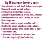 10 Reasons to be a Nurse