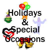 Holiday & Special Occasion T-shirts and Gifts