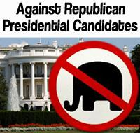 Against Republican Presidential Candidates